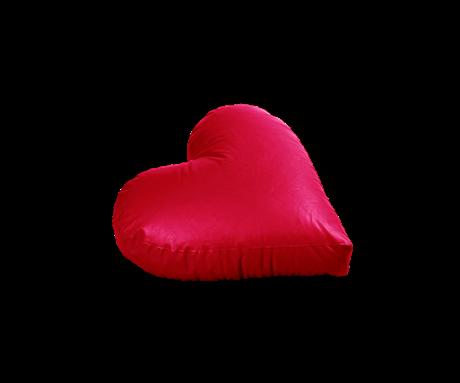 Πουφ Καρδιά Μαξιλάρι Β